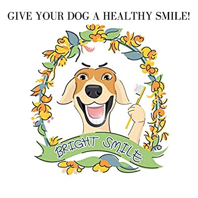 Dog Toothpaste for Plaque with 2 Finger Toothbrushes for Dogs or Cats from Tarot Health