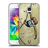 Head Case Designs Faultier Witzeleien Tiere Ruckseite Hülle für Samsung Galaxy S5 Mini