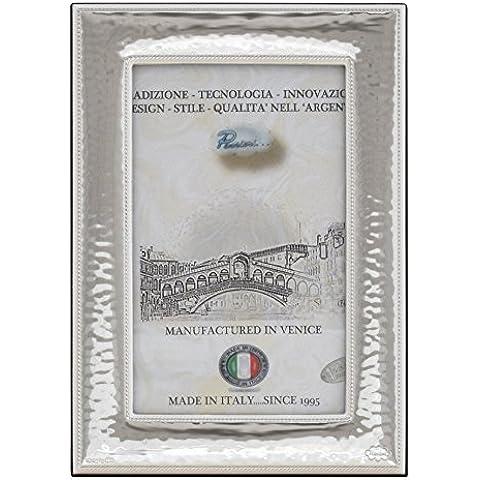 CORNICE M Cornice per Foto 10x15cm Portafoto Argento Artigianale Made in Italy