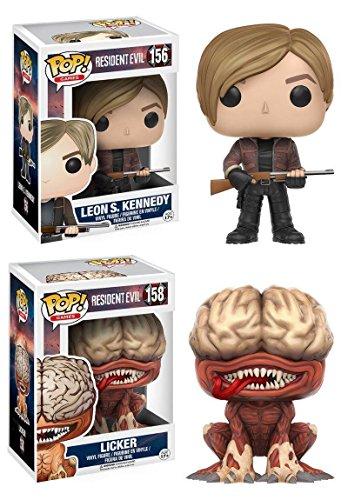 Funko Pop Pack Leon S. Kennedy + Licker (Resident Evil) Funko Pop Resident Evil