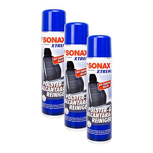 SONAX 3X 02063000 Xtreme Polster- & AlcantaraReiniger Treibgasfrei Polsterreinig