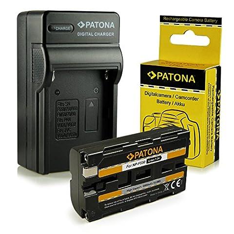 Chargeur + Batterie NP-F550 pour Sony BC-V615 | DCM-M1 |