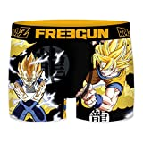 FREEGUN Boxer Homme Dragon Ball Z Super Saiyan 2 (XXL)