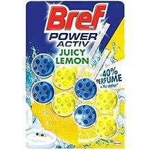 Bref Power Activ Duplo Limón Cesta WC - Paquete de 2 x 50 gr - Total