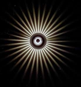 Effektleuchte, Wandlampe 3W Power LED, SunLed white 10113