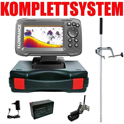 Lowrance Echolot Fischfinder Portabel Master Edition Komplettsystem Hook2 4X