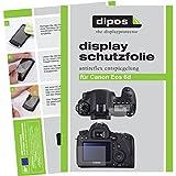 dipos Canon EOS 6D Schutzfolie (6 Stück) - Antireflex Premium Folie matt