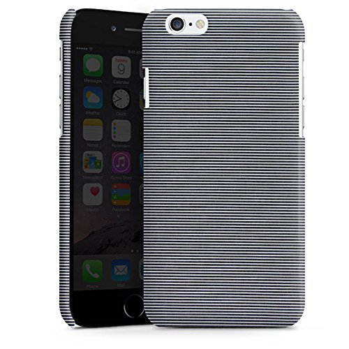 Apple iPhone 5s Housse Étui Protection Coque Motif Motif Look jeans gris Cas Premium brillant