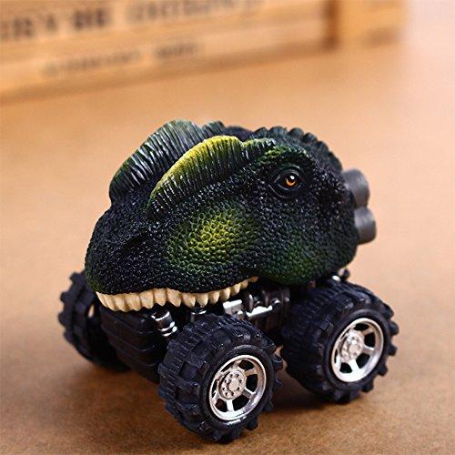 Etbotu Kinder Kreativ Mini Dinosaurier Fahrzeug Wind Up Spielzeug Cute Pädagogische Spiel Auto Spielzeug Great Christmas Halloween Neujahr Geschenk für Kinder