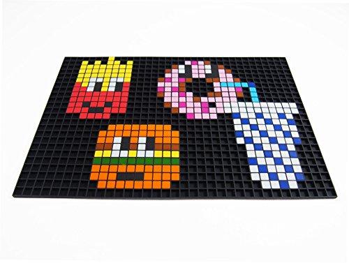 La Manufacture Du Pixel Pixel Art Craft Creative Hobby Mosaic Fun Make Your Own Art Tin Collection Pixel Frame Black