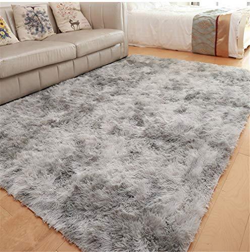 GLITZFAS Shaggy alfombras de Pelo Largo alfombras Salon alfombras de habitacion moquetas Sala de Estar...