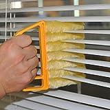 OPEN BUY Limpiador innovador microfibra para rejillas ventanas contraventanas radiadores