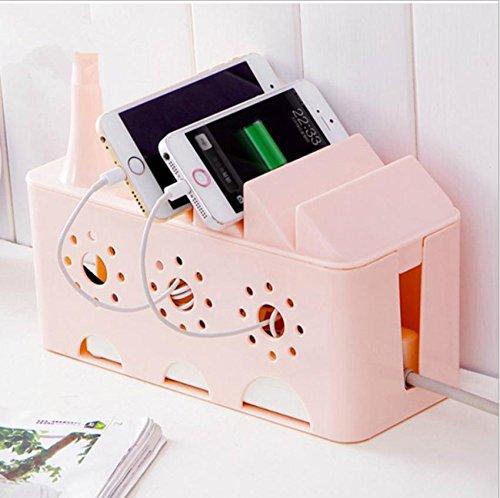 Connecteur pour câble multifonction power rack organisateur . pink . 24*10.5*16