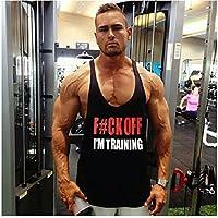 F * CK Off I 'm formación Singlet Camiseta de tirantes | Stringer | chaleco, Bodybuilding, extra-large