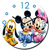 2 O Clock Mickey Mouse and Team Wall Clo...