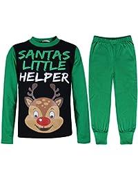 e04e4f70fa A2Z 4 Kids® Kids Girls Boys Pyjamas Reindeer Rudolph Santas Little Helper  Reindeer Print Stylish