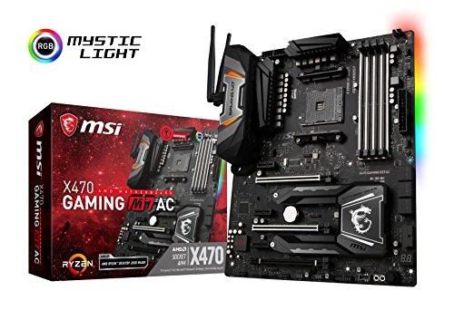 MSI X470 GAMING M7 AC ATX Motherboard for AMD Socket AM4 Processor