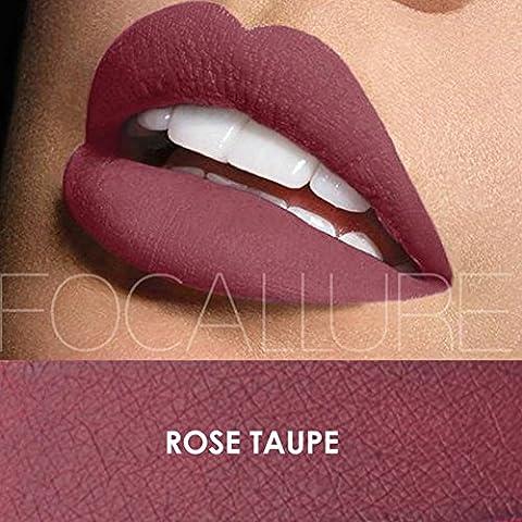 Urparcel Femme Rouge à lèvre Lustre à lèvre matte Glosse à lèvre longue durée maquillage beauté Waterproof FA 24 6# veuillez regarder les autre couleurs dans notre