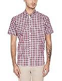 GHPC Men's Checkered Slim Fit Casual Shi...