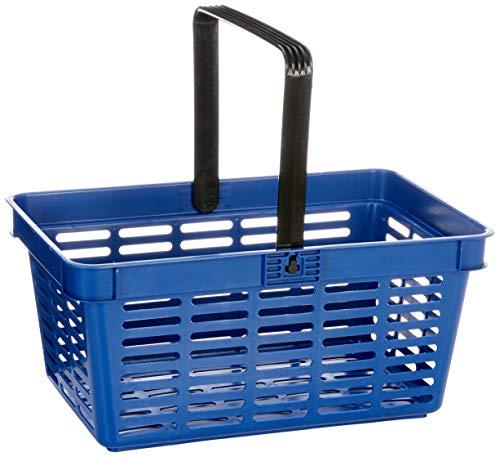 Cestino per la spesa resistente 6 pezzi blu