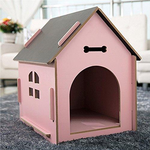 YNZYOG Gatos Perros Habitación Mascotas/Casa Madera
