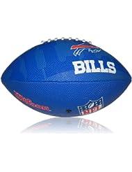 Wilson Football NFL Junior Buffalo Bills Logo - Balón de fútbol americano ( infantil, caucho ) , color multicolor, talla 5