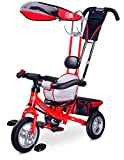 Caretero Toyz Derby, 3in1 Multifunktionell Dreirad, rot