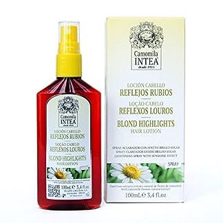 Camomila Intea, Loción para cabello (reflejos rubios) – 100 ml.