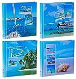 Set di wellgro® Jumbo foto album Beaches–per un totale di fino a 1600foto 10X 15–30x 30cm (H x L)–100pagine Album