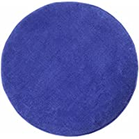 Homescapes Blue Round Cotton Tufted Rug 70 cm Circular Children Room Nursery or Interior Rugs