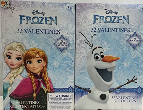 disney-frozen-valentines-glitter-tattoos-and-stickers-bundle-anna-elsa-olaf-2-pack-by-disney
