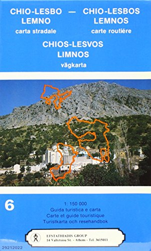 Chios, Lesbos, Limnos Road Map