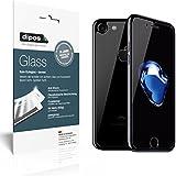 dipos Glass Panzerglasfolie iPhone 7 (Vorder- und Rückseite) Schutzfolie Kunststoffglas 9H