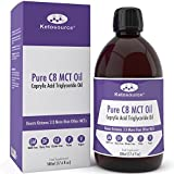 Premium C8 MCT Oil | Produces 3X More Ketones Than Other MCT Oils | Highest Purity of C8 MCT Available with 99.3% Purity | Pure Caprylic Acid Triglycerides | Paleo & Vegan Friendly | Gluten Free | BPA Free Bottle | 500ml Bottle | KetoPerformance®