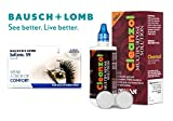 #10: Bausch & Lomb Soflens59 with Lens Care Kit Contact Lens - 6 Pieces (-4.5)