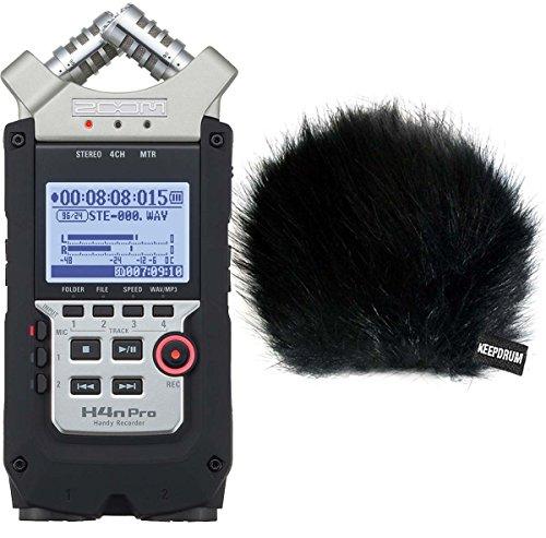Zoom H4N Pro Handy Recorder protezione anti-vento in pelliccia WSBK KEEPDRUM
