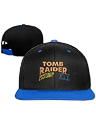 Comfortable Tomb Raider Logo Square Enix Crystal Dynamics Fitted Hats