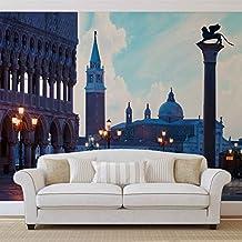 Città Venezia San Marco foto carta da parete Immagine di sfondo (338fw), TESSUTO NON TESSUTO (EasyInstall), XXL - 312cm x 219cm