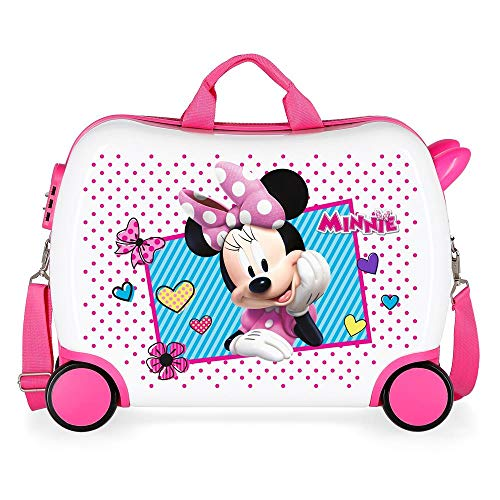 Disney Joy Valigia per bambini 50 centimeters 34 Multicolore (Multicolor)