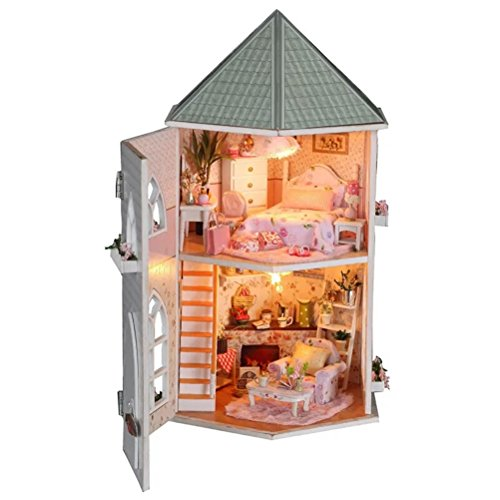 Puppenhaus Bausatz Aus Holz Mit Kompletter Einrichtung Inkl Beleuchtung | Puppenhaus Bausatz Vergleichstest Feb 2019 Neu