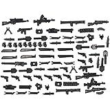 Magma Brick: Armi Ambientate nella Seconda Guerra Mondiale per Personalizzare Maggiore Costruzioni Marchi Minifigure/Maggiore Costruzioni Marchi Moc. 88 pz
