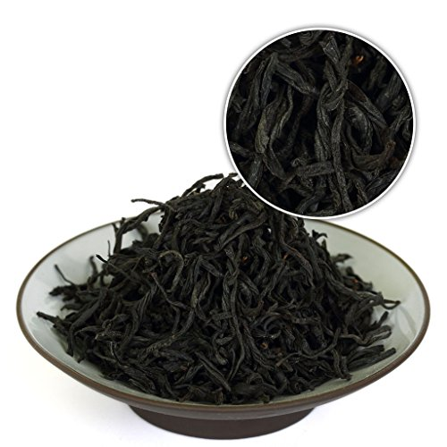 GOARTEA 250g (8.8 Oz) Premium Organic WuYi Lapsang Souchong Black buds Zheng Shan Xiao Zhong Loose Black Tea * Light Smoky tee