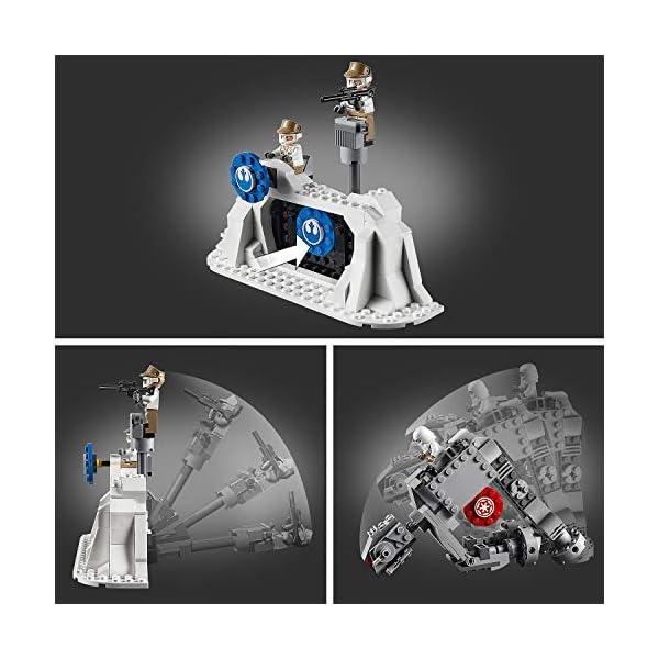 LEGO Star Wars Action Battle Difesa della Echo Base con 2 Snowtrooper e 3 Rebel Trooper, Set di Costruzioni per Ragazzi… 3 spesavip