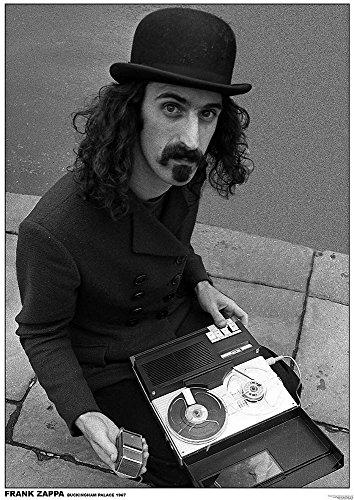Frank Zappa Poster Buckingham Palace London 1967