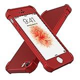 Coque iPhone SE, ORETech iPhone SE 5S 5 Housse 360 Antichoc Ultra Mince avec...
