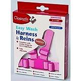Clippasafe Easy Wash Hundegeschirr und Zügel–Pink