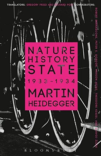 Nature, History, State (Athlone Contemporary European Thinkers)