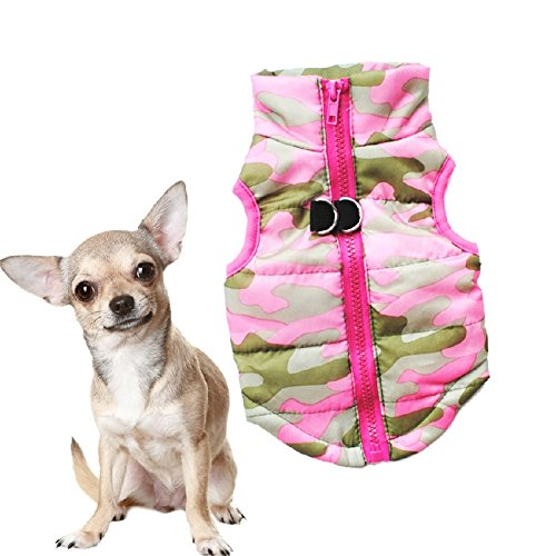 huuation Pet Hund Kleidung Haustier Hund Katze Puppy Coat Kostüme Kleidung für kleine Hunde/Welpen/Teddy Pudel Pet (Welpen Verspielt Kostüme)