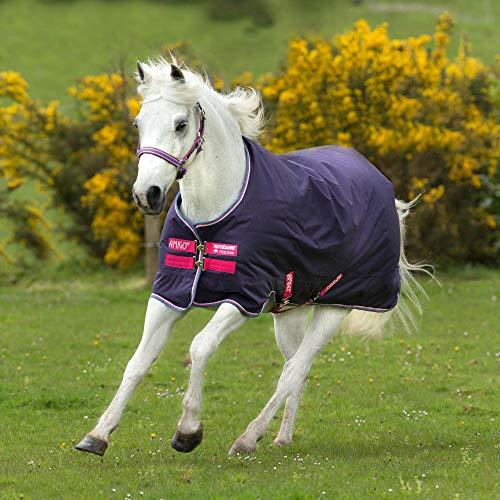Horseware Hero 900 Pony Mittlere Wahlbeteiligung Teppich 100cm Grape/Pink/White -