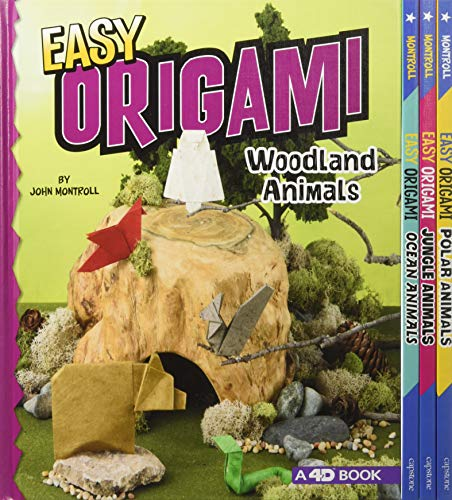Easy Origami Animals 4D: An Augmented Reading Paper Folding Experience